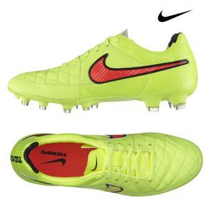 Nike Tiempo Legacy FG Fussballschuhe gelb/rot/schwarz – Bild 2