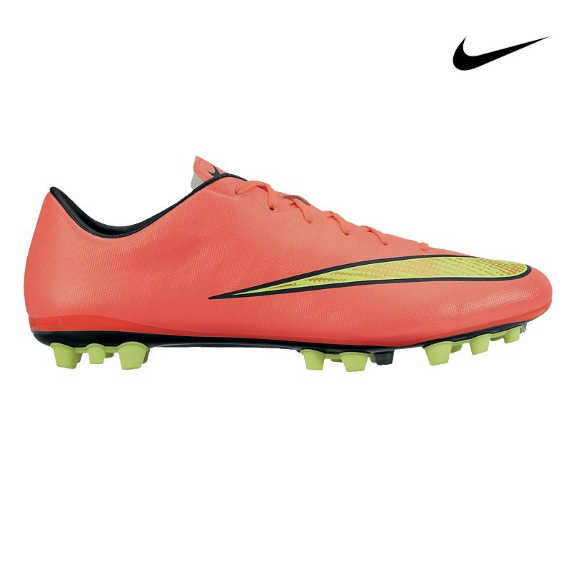 new product 66d7a 3b253 Nike Mercurial Veloce AG Kunstrasensohle orangegelbschwarz