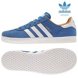 adidas Originals Gazelle K Kinder Sneaker blau/weiß/gold
