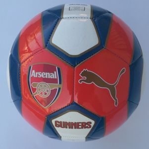 Puma FC Arsenal London Fan-Ball 2014/2015 rot/weiß