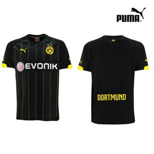 Puma BVB Borussia Dortmund Away Auswärtstrikot 2014/2015 schwarz/gelb