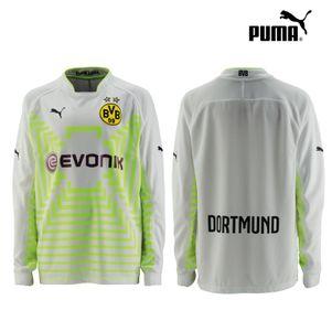 Puma BVB Borussia Dortmund Kinder Torwarttrikot 2014/2015 weiß/gelb
