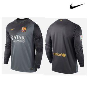 Nike FC Barcelona Torwart Trikot 2014/2015 grau/schwarz – Bild 1