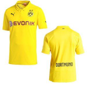 PUMA BVB Borussia Dortmund Championsleague Trikot gelb 2014/2015 – Bild 1
