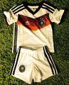 adidas DFB Trikot Minikit Heimtrikotset 4Sterne Deutschland WM 2014