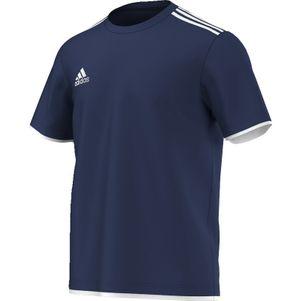adidas Core11 T-Shirt Trainingsshirt Kinder Baumwollmischgewebe blau