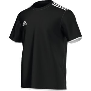 adidas Core11 Tee Youth T-Shirt Trainingsshirt Kids schwarz / weiß