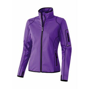 Erima Active Wear Softshell Jacke Lite Damen lila/schwarz