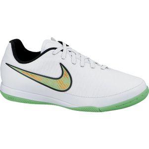Nike JR Magista Onda IC Kinder Hallenfusßballschuhe weiß/grün/orange/schwarz – Bild 1