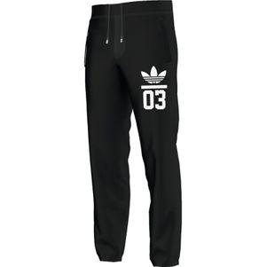 adidas Originals 3FOIL Sweatpant Jogginghose schwarz