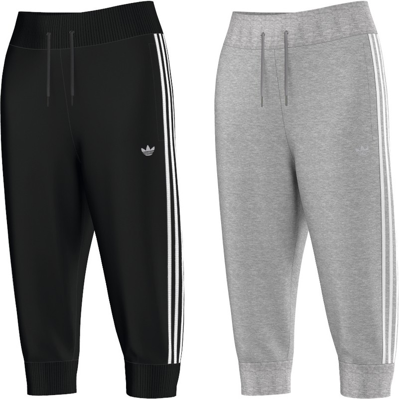 adidas Originals 3/4 Trackpant Hose Damen Mode Damen Hosen