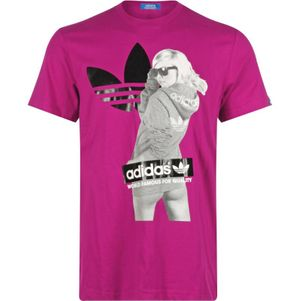 adidas Originals Tee Girl Herren T-Shirt power pink
