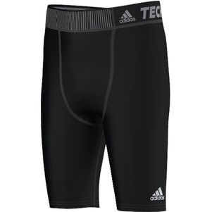 adidas TechFit Base Short Tight Unterzieh-Hose Kids schwarz – Bild 1