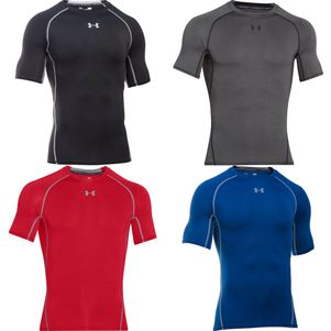 Under Armour HeatGear® SS Tee Kompressions-Shirt kurzärmlig – Bild 1