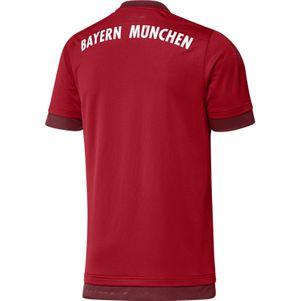 adidas FC Bayern München Trikot Home Saison 2015/2016 rot/bordeaux – Bild 2