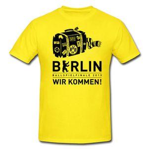 PUMA BVB Borussia Dortmund Ballspielfinale Berlin 2015 T-Shirt – Bild 1
