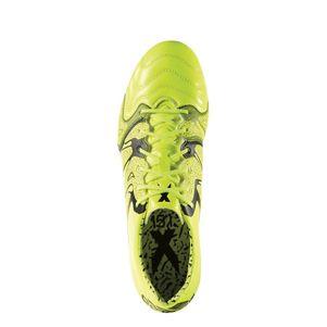 adidas X 15.1 FG/AG Leather Leder gelb/schwarz – Bild 2