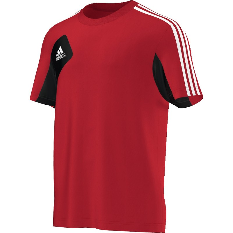adidas condivo12 tee kids t shirt rot schwarz wei teamwear adidas serien condivo 12. Black Bedroom Furniture Sets. Home Design Ideas