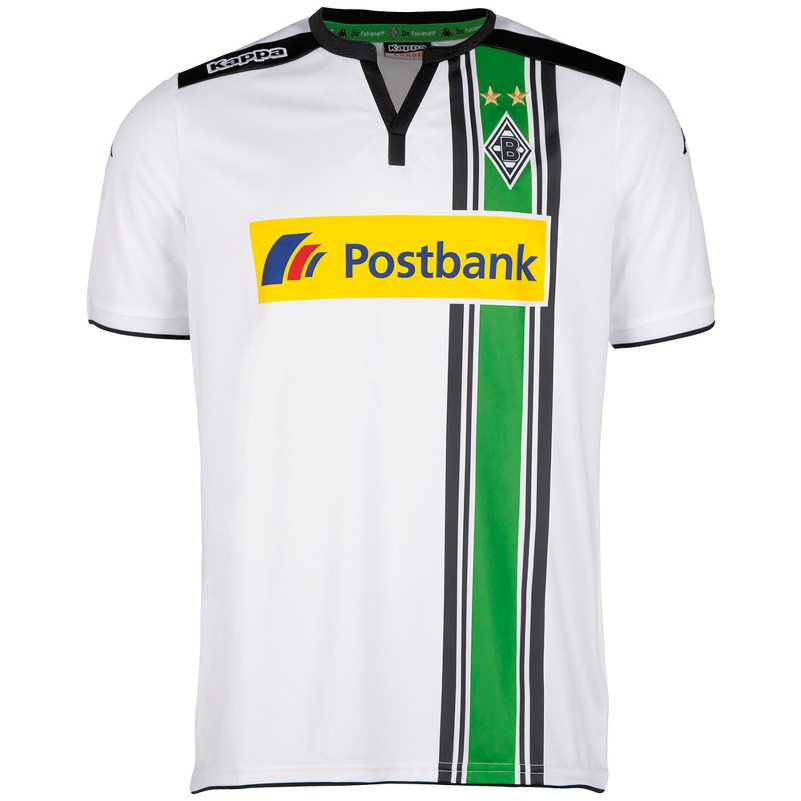 kappa borussia m nchengladbach home heimtrikot 2015 2016 wei fanshop bundesliga borussia. Black Bedroom Furniture Sets. Home Design Ideas