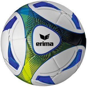 erima Hybrid Training Trainingsfußball weiß/blau/hellgrün – Bild 1