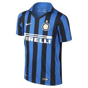 Nike Inter Mailand Home Kids Heimtrikot Kinder 2015/2016 schwarz/blau – Bild 1