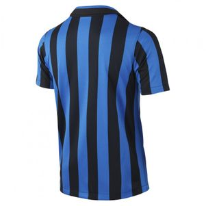 Nike Inter Mailand Home Kids Heimtrikot Kinder 2015/2016 schwarz/blau – Bild 2