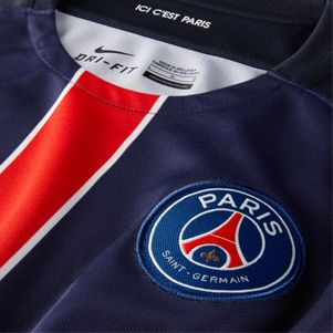 Nike Paris Saint-Germain Trikot Home Kinder 2015/2016 dunkelblau/weiß – Bild 3
