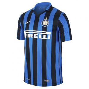 Nike Inter Mailand Home Heimtrikot 2015/2016 schwarz/blau