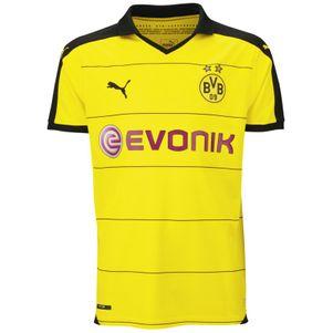 Puma BVB Borussia Dortmund Home Heimtrikot Kinder 2015/2016 gelb – Bild 1