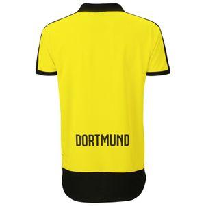 Puma BVB Borussia Dortmund Home Heimtrikot Kinder 2015/2016 gelb – Bild 2