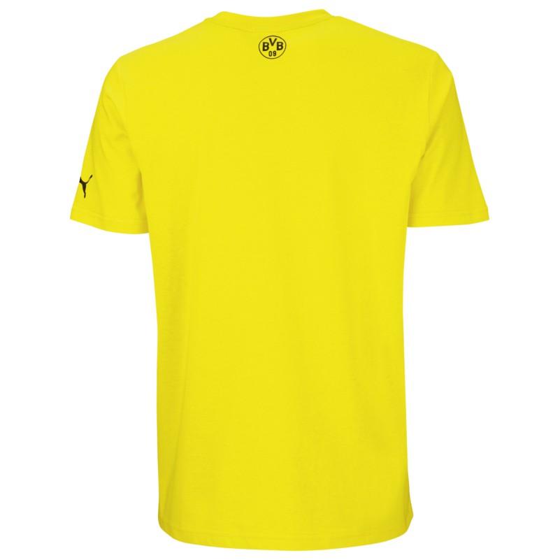 Puma BVB 09 Dortmund Tee T Shirt gelb FanShop Bundesliga