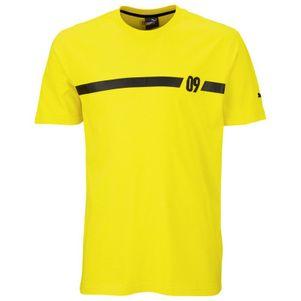 Puma BVB 09 Dortmund Tee T-Shirt gelb – Bild 1