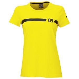 Puma BVB Borussia Dortmund Women Fan Tee Damen T-Shirt gelb – Bild 1