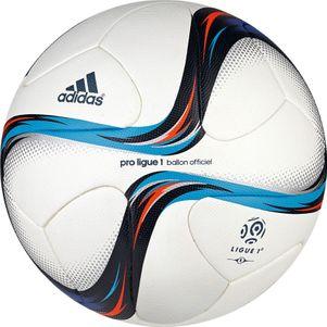 adidas Pro Ligue 1 OMB Spielball 2015/2016 weiß/blau