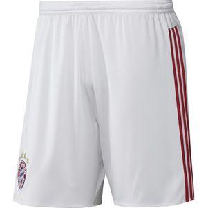 adidas FC Bayern München Away Short 2015/2016 weiß/rot – Bild 1