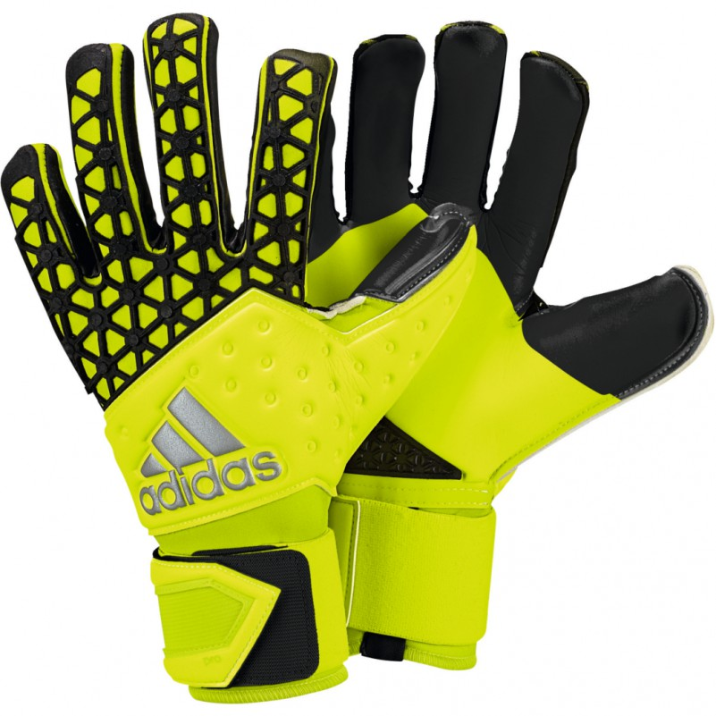 adidas ace zones pro torwarthandschuhe gelb schwarz equipment torwart handschuhe. Black Bedroom Furniture Sets. Home Design Ideas