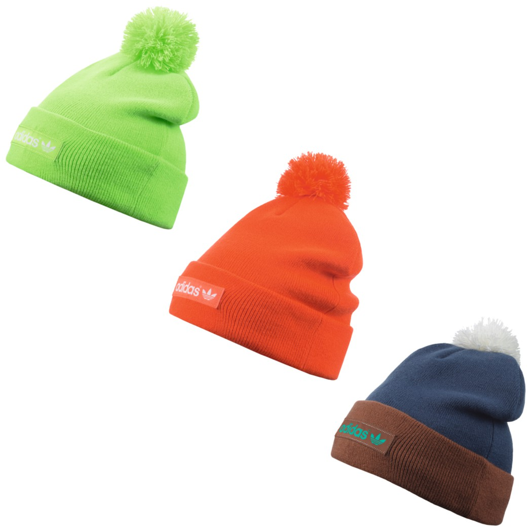 coupon code good looking get online adidas Originals Woven Logo Beanie Mütze