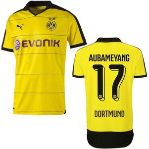 Puma BVB Borussia Dortmund Heimtrikot 2015/2016 gelb mit Beflockung – Bild 5