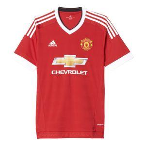adidas Manchester United Home Heimtrikot 2015/2016 rot – Bild 1