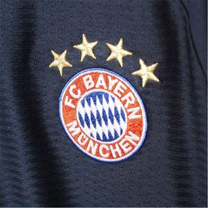 adidas FC Bayern München Trikot UCL 2015/2016 dunkelblau/pink – Bild 3