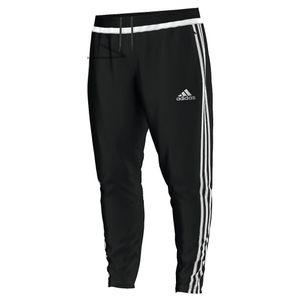 adidas Tiro15 Training Pant Trainingshose lang schwarz/weiß – Bild 1