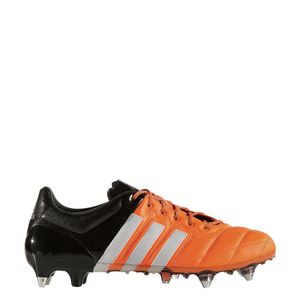 adidas ACE 15.1 SG Leather Leder orange/weiß/schwarz – Bild 1