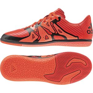 adidas X 15.3 IN Junior Synthetik Kids Hallenschuh orange/schwarz/weiß