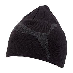 Puma Big Cat Beanie Mütze schwarz/grau