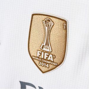 adidas Real Madrid Heimtrikot Badge 2015-2016 Ronaldo Bale Kroos James – Bild 2