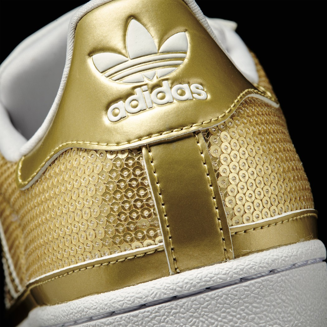 fff0baf60592 adidas Originals Superstar Damen gold metallic Mode Damen Schuhe