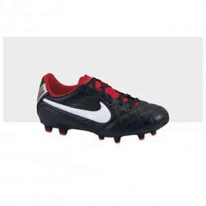 Nike JR Tiempo Natural IV FG schwarz / weiß / orange