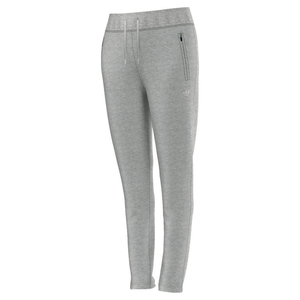 adidas Originals Slim Trackpant Cuffed Trainingshose Damen grau