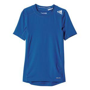 adidas TechFit Base Tee Youth T-Shirt kurzarm Unterziehshirt Kinder – Bild 4