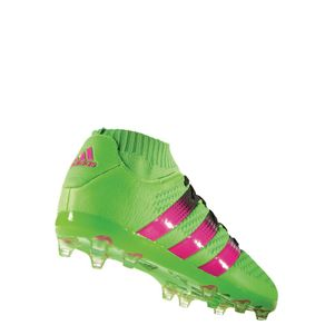 adidas ACE 16+ Primeknit FG/AG Junior Limited Edition Socke grün – Bild 2